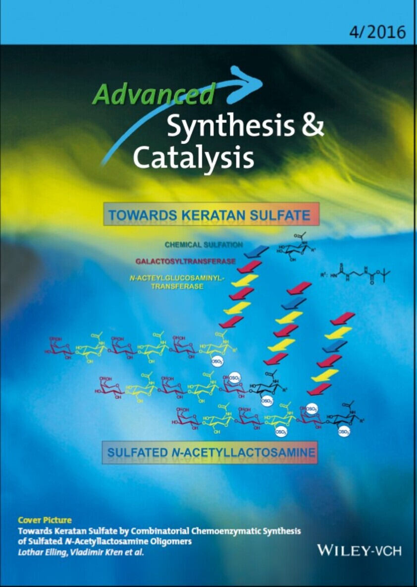 Titelseite Advanced Synthesis and Catalysis