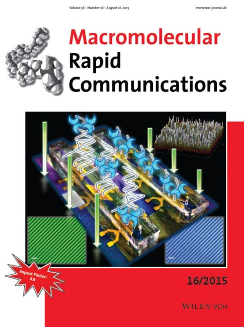 Titelseite Macromolecular Rapid Communications