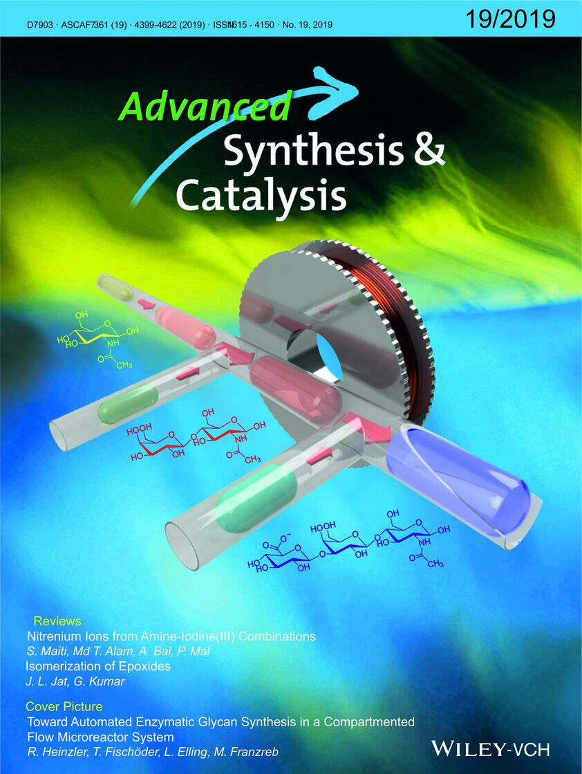 Cover Advanced Synthesis and Catalysis